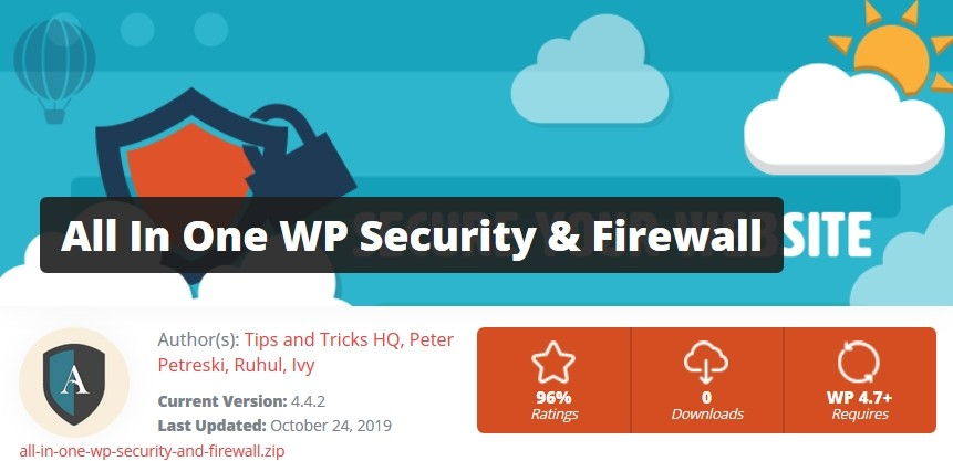 L'extension WordPress All in one WP Security empêche le Hotlinking