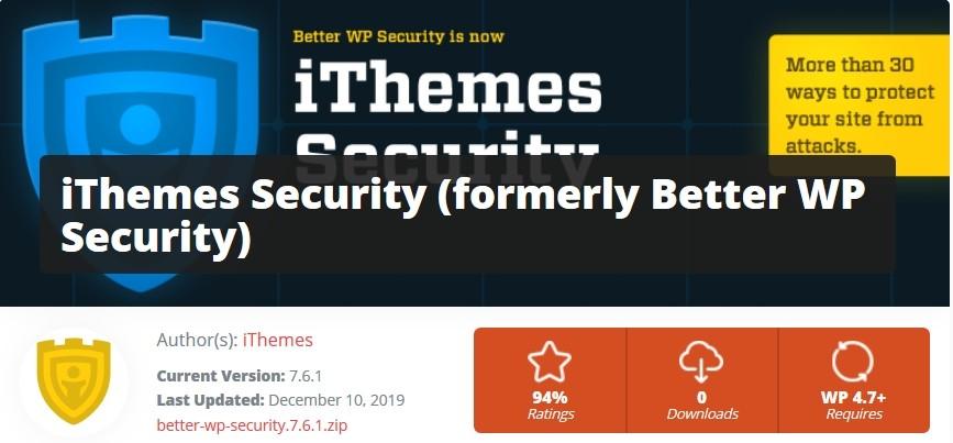 Le plugin iThemes Security pour bloquer les utilisateurs mal intentionnés