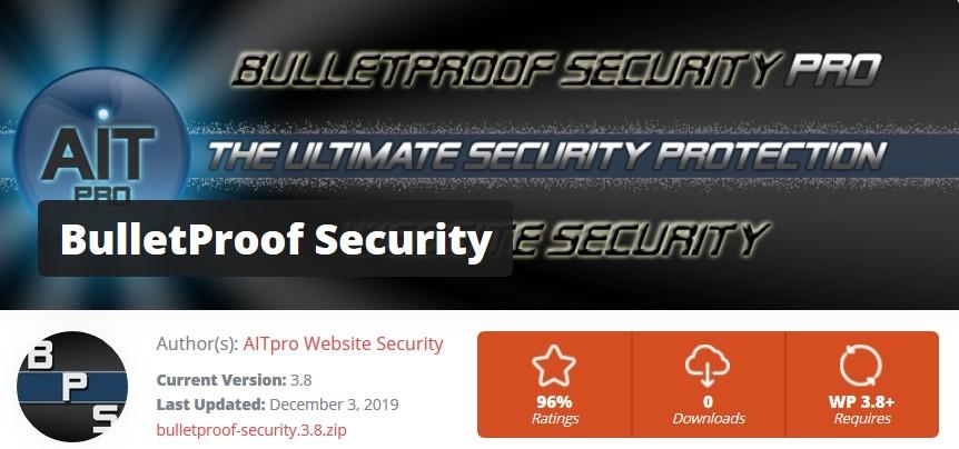 BulletProof Sécurité pour déconnecter les utilisateurs non actifs