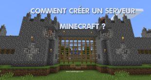 Création serveur Minecraft