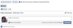 plugin facebook pour médias sociaux