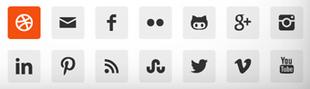 plugin simple-social-icons pour médias sociaux