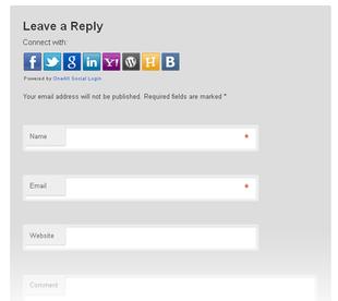 plugin social-login pour médias sociaux