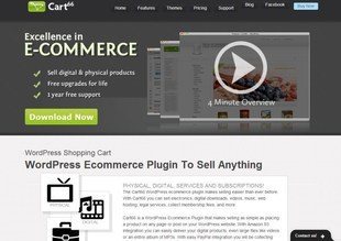 extension wordpress ecommerce cart66