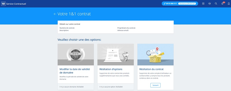1and1-contrat