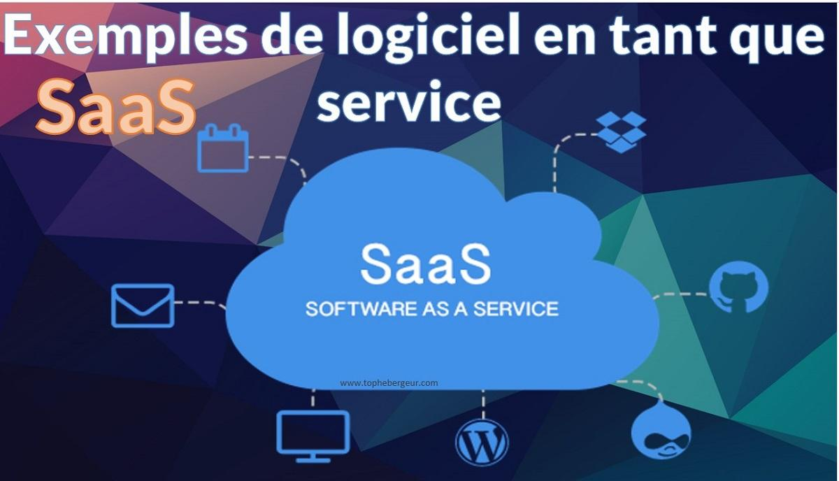 Exemples de déploiement de Software as a service
